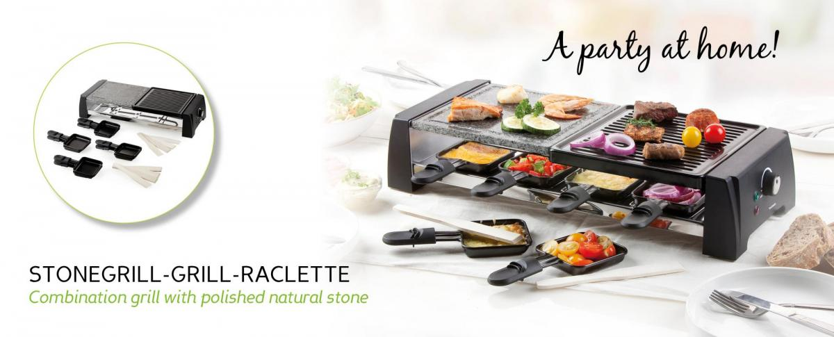 Steingrill-Grill-Raclette - DO9190G