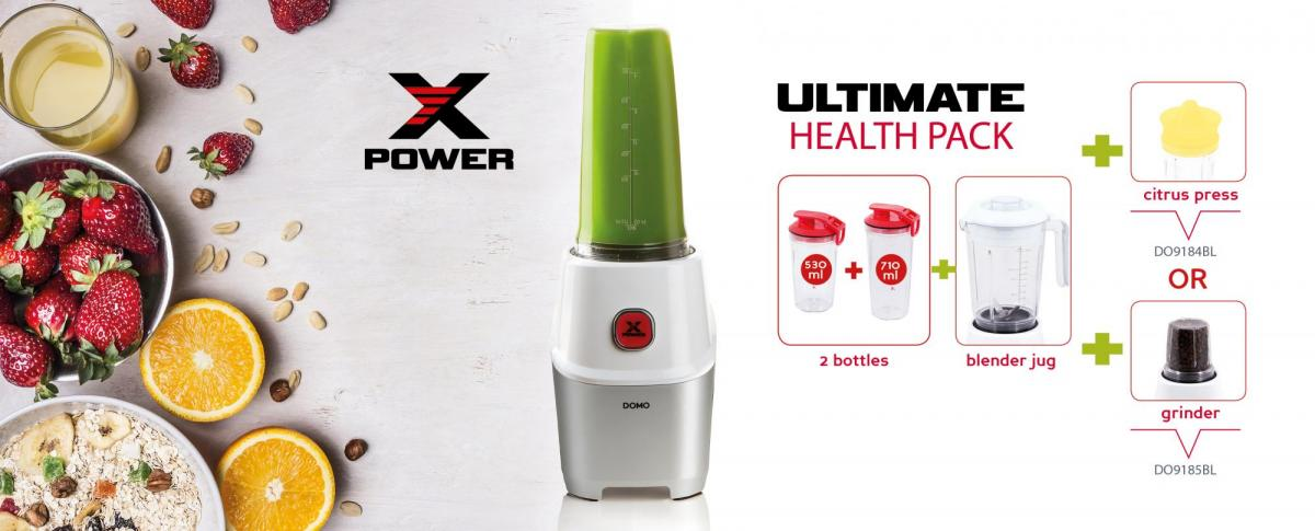 Xpower blender ultimate health pack - DO9184BL