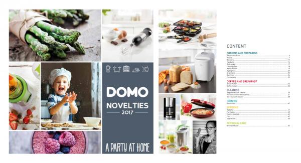 DOMO catalogue 2017