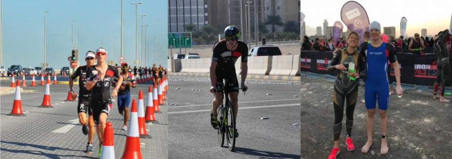 DOMO-Scott team @Ironman 70.3 Bahrein