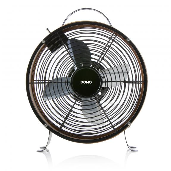 Ventilateur de table - bois look - DO8145
