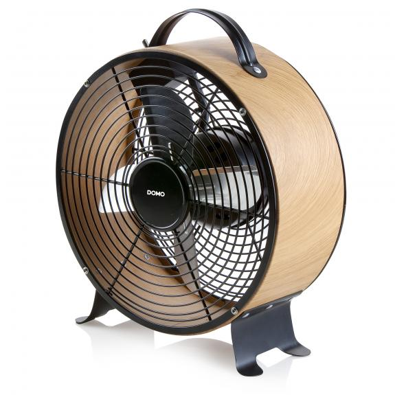 Tischventilator - Holz-Look - DO8145
