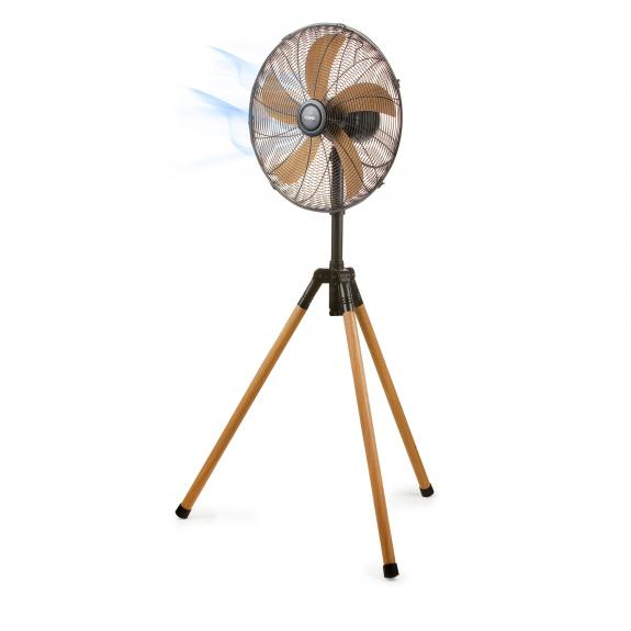 Stand fan - wood style - DO8146