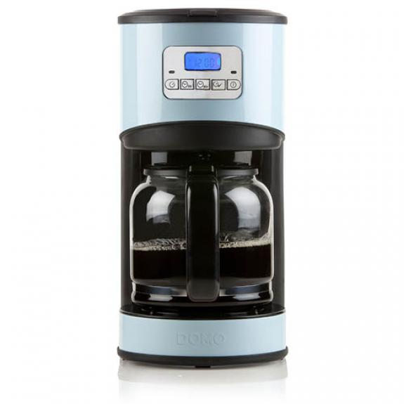 Kaffeeautomat Retro-Look (blau) - DO478K