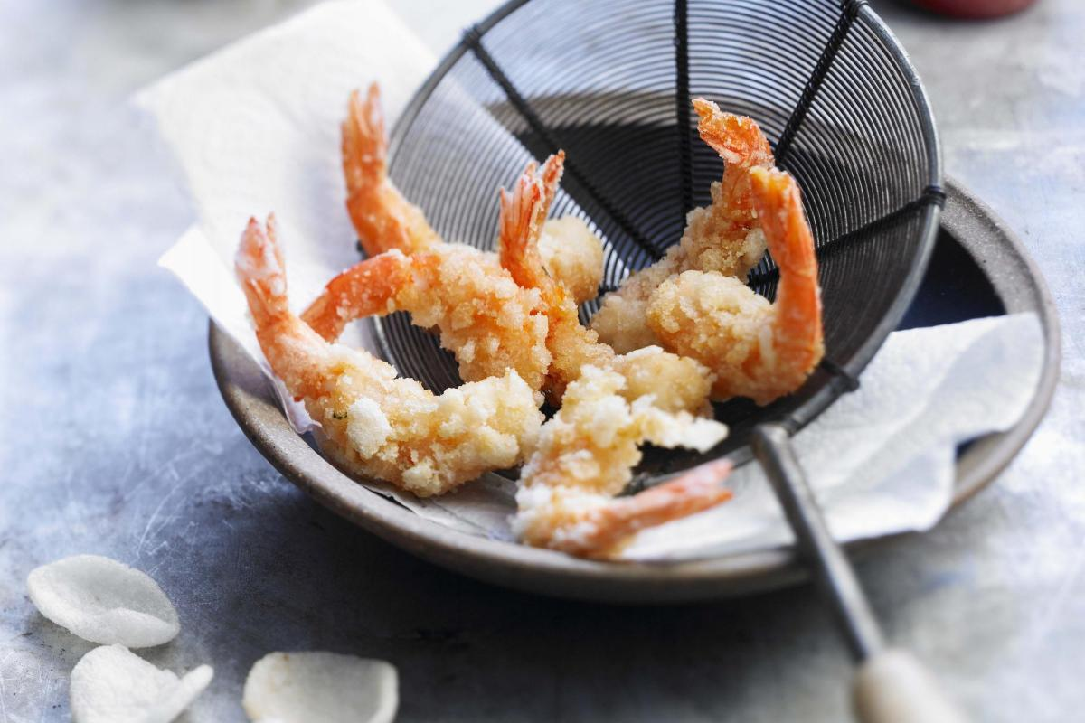 Scampi frits