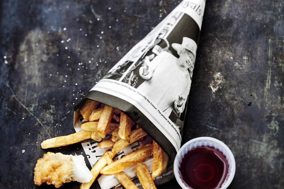 Selbst gemachte Pommes frites